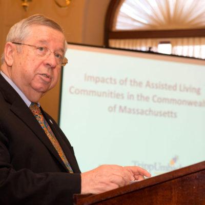 Richard T. Moore, President of Mass-ALA and Secretary & Treasurer of Mass-SALC